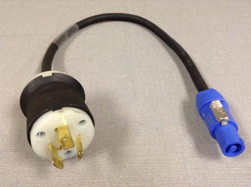 L6-20 to PowerCon Adapter